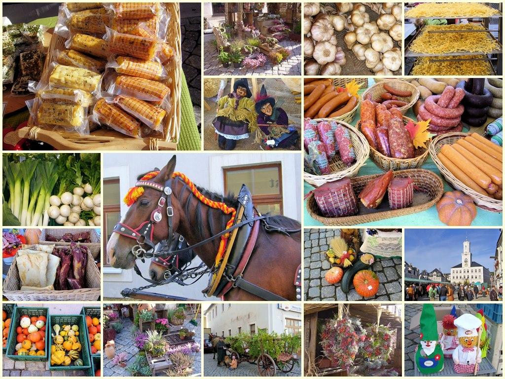 Markttag in Schneeberg