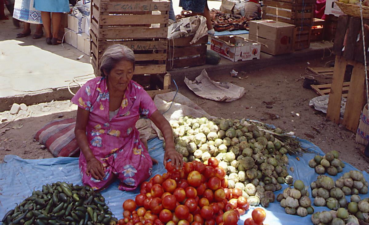 Markttreiben in Mexico