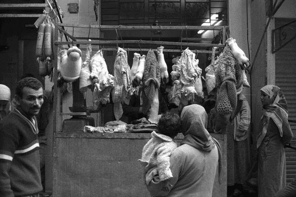 Marktverkäufer in Suez
