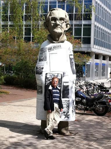 Markus Faroß in Münster an der Promenade!