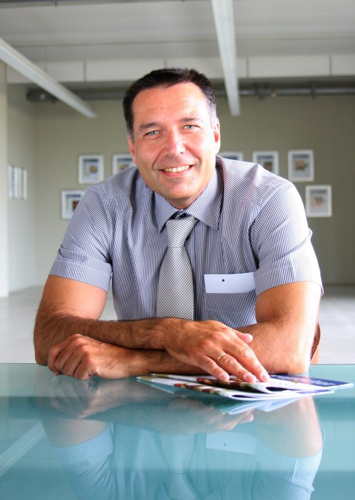 Markus im Office