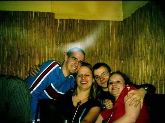 Markus, Josi, Anja und I