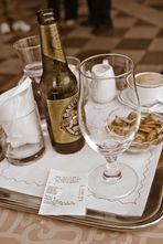 Markusplatz: Bier + Espresso - 20 €, stimmt so!