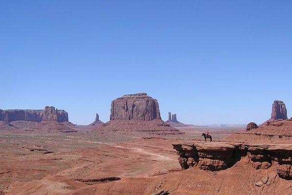 Marlboro Revue im Monument Valley