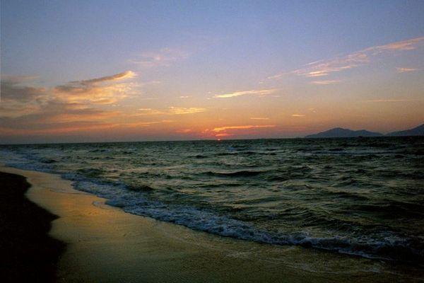 Marmari - Sonnenuntergang