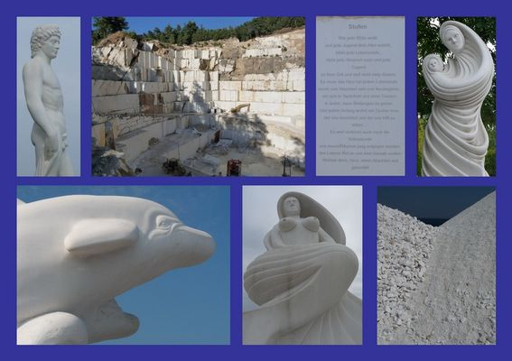 Marmor in Thassos