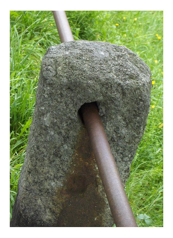 Marmor, Stein und Eisen...