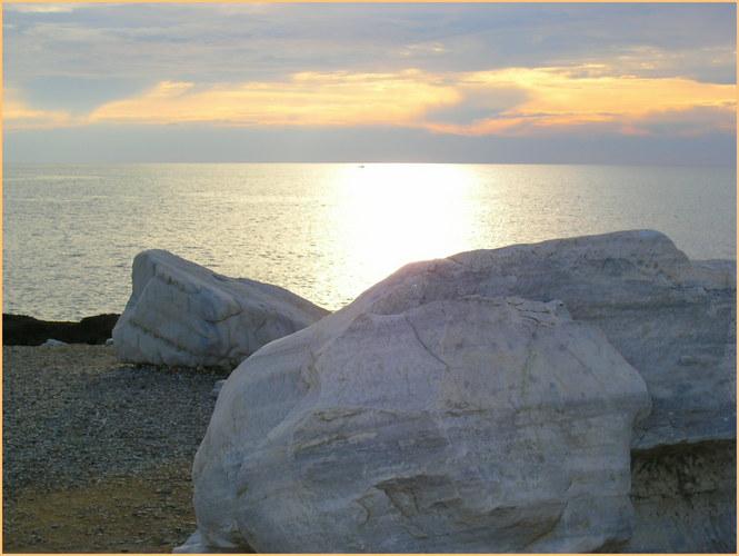 Marmor Stein und Gegenlicht