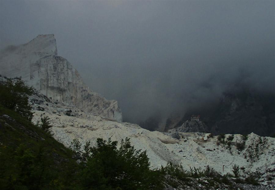 Marmorberge von Carrara
