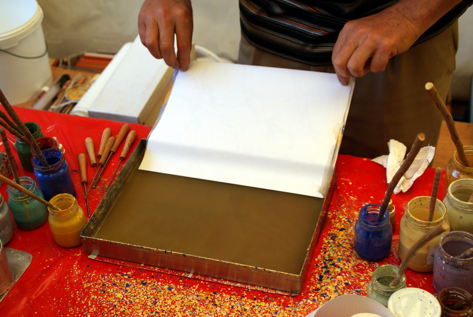 Marmorpapier (4)