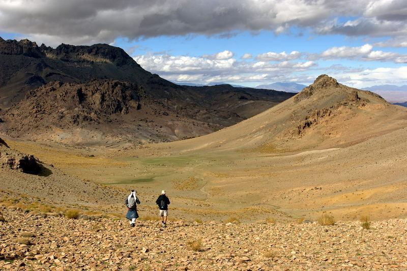 maroc - Moyen Atlas - anciens volcans