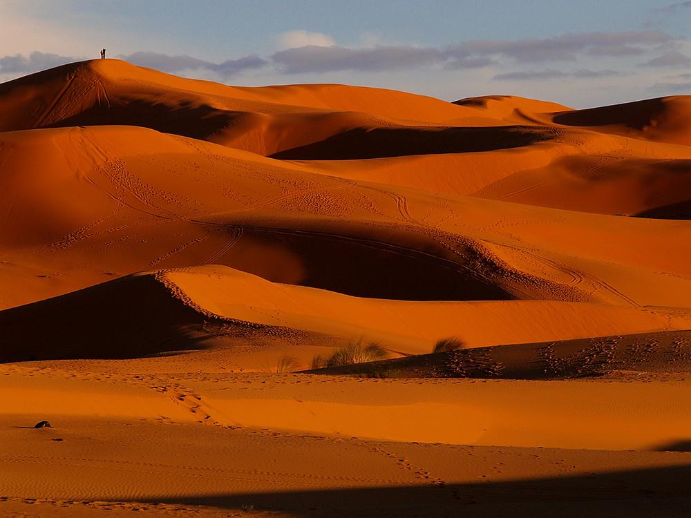 Marocco : sopra le dune... ( Over dunes...)