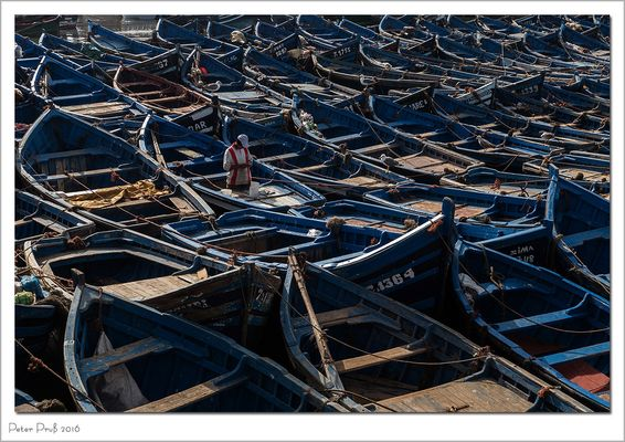 Marokkanische Ficherboote