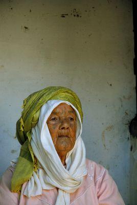 Marokkanische Milchverkäuferin