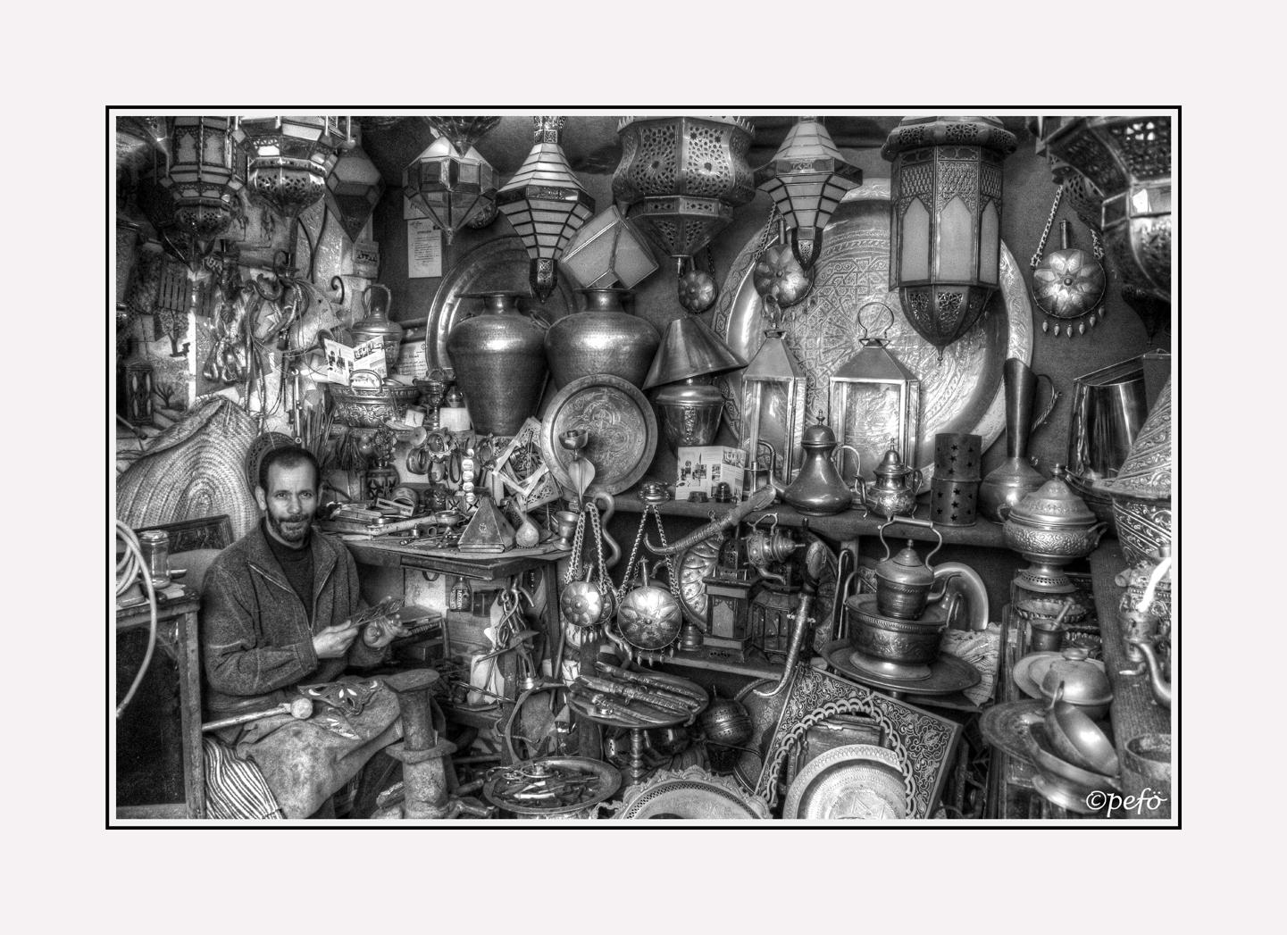 Marokkanischer Handwerker