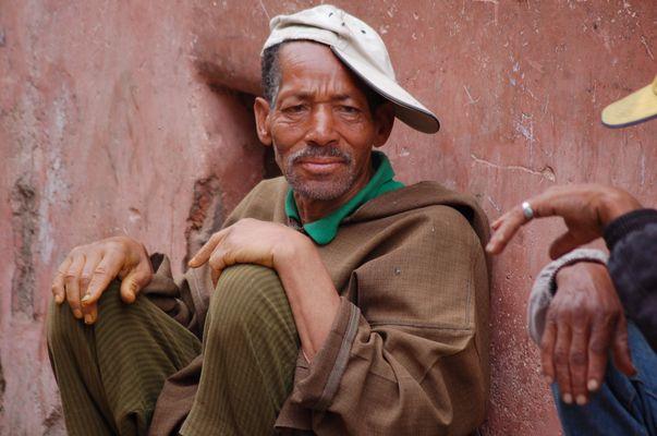 Marokkanischer Mann