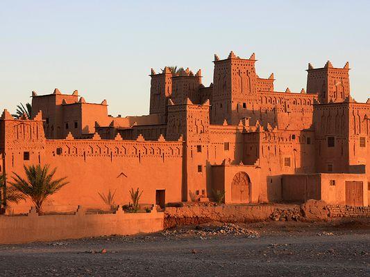 Marokko 18: Schöner Wohnen: Die Kasbah Amerhidil in Skoura beherbergt ein Hotel