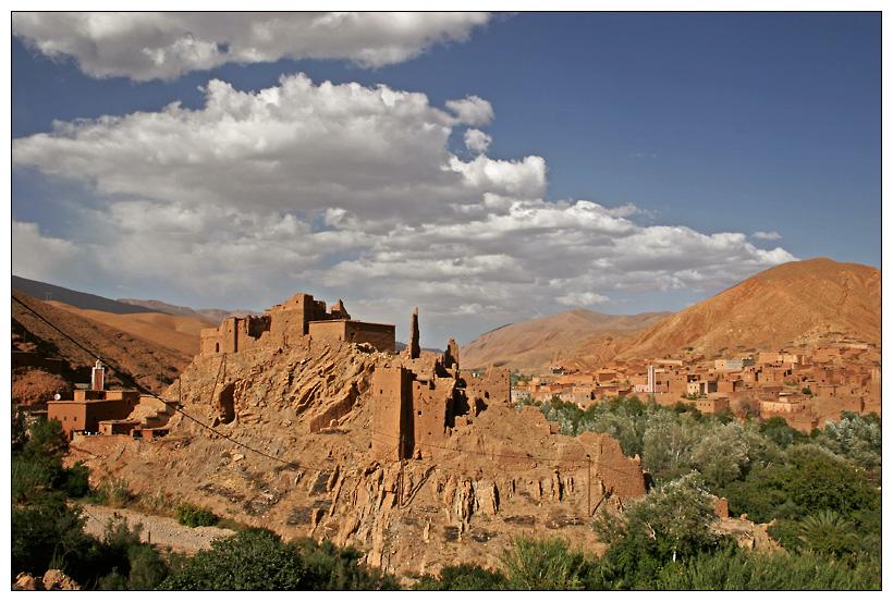 Marokko - Berberburg