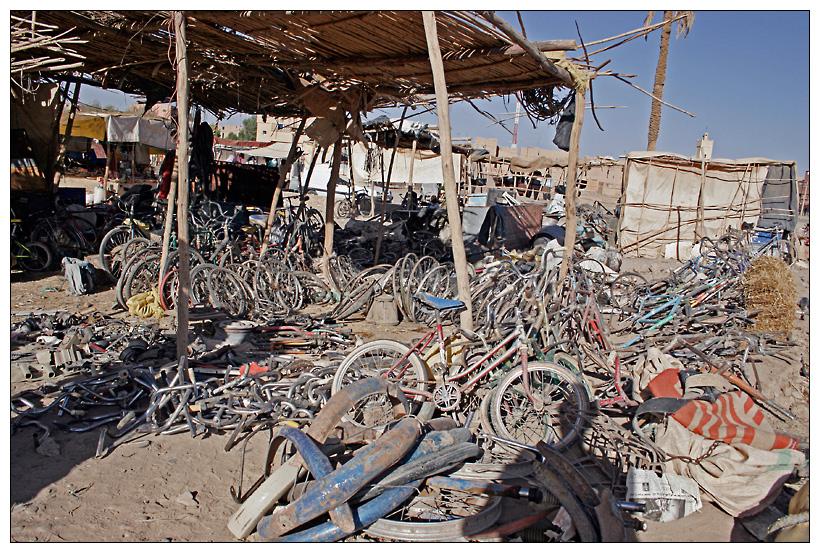 Marokko - Fahrradhändler