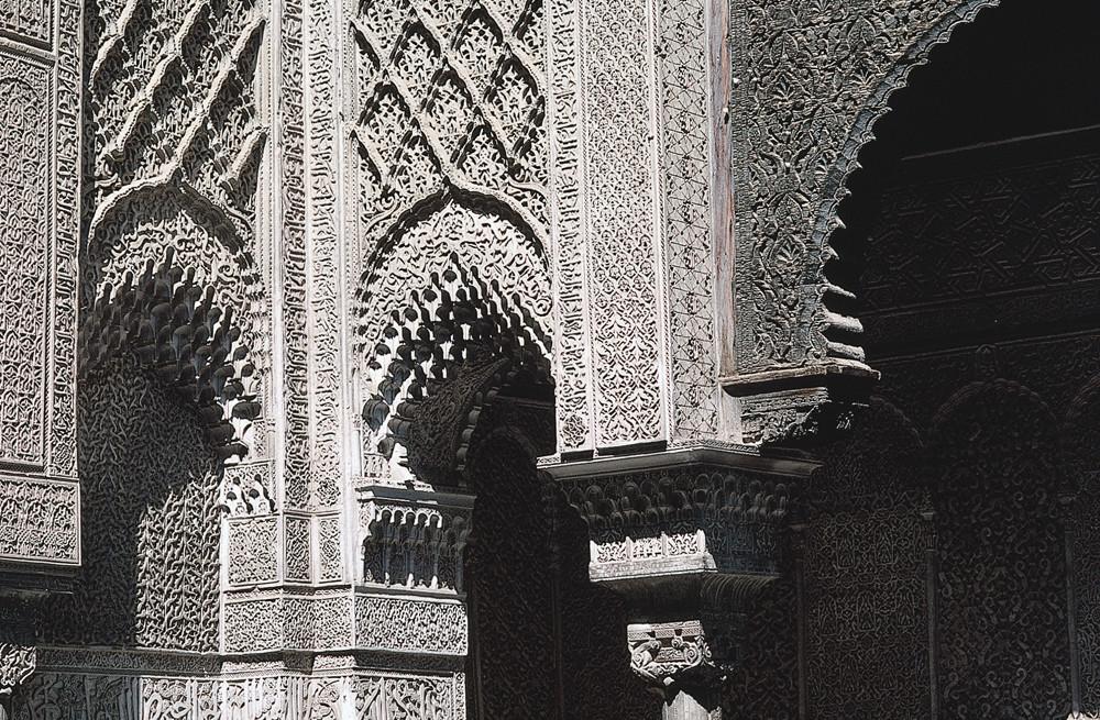 MAROKKO in einer Medrese -islamische Hochschule 4