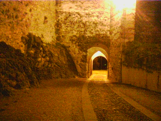 Marostica by night