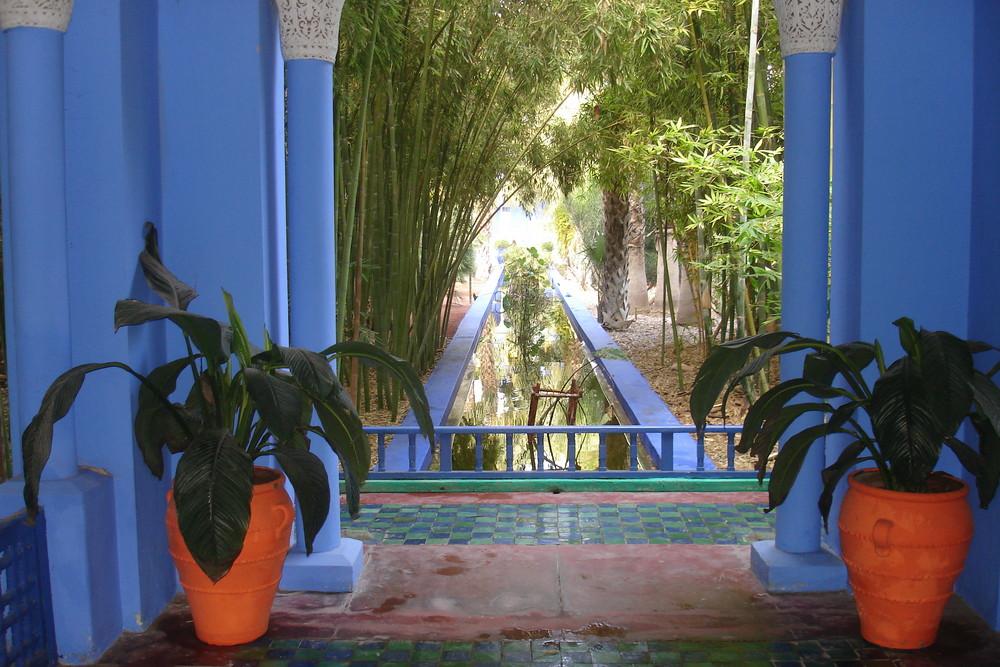 marrakech et son parc majorelle