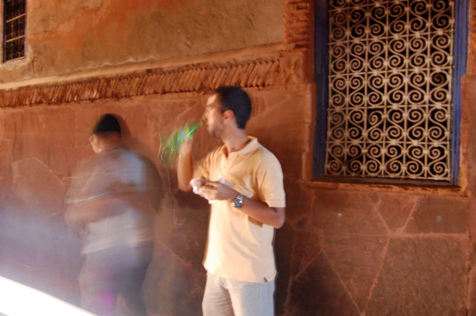 Marrakech fast food