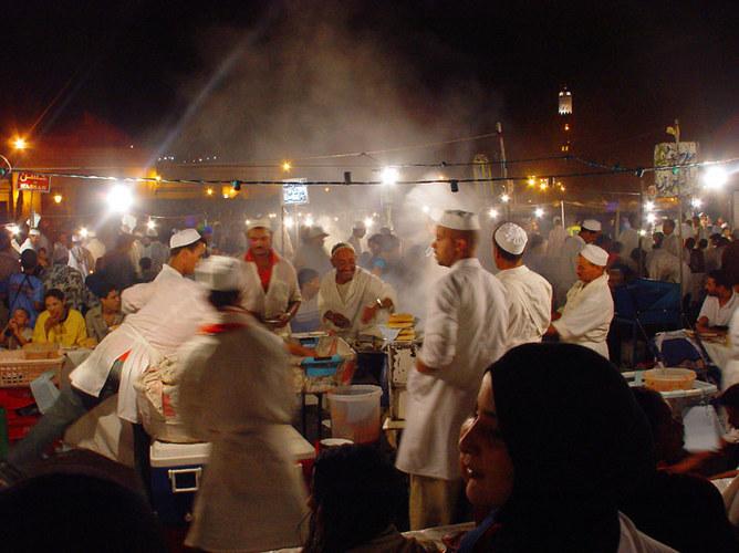 Marrakech - Jemaa-el-Fna