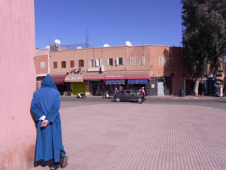 Marrakesch blau