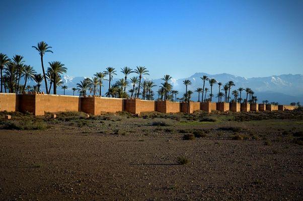 Marrakescher Mauer