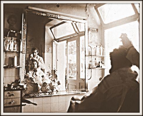 Marrokoreise 1974: Besuch beim Friseur