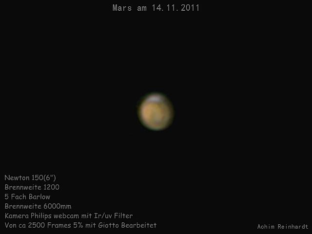 Mars am 14.11.2011 Nr2