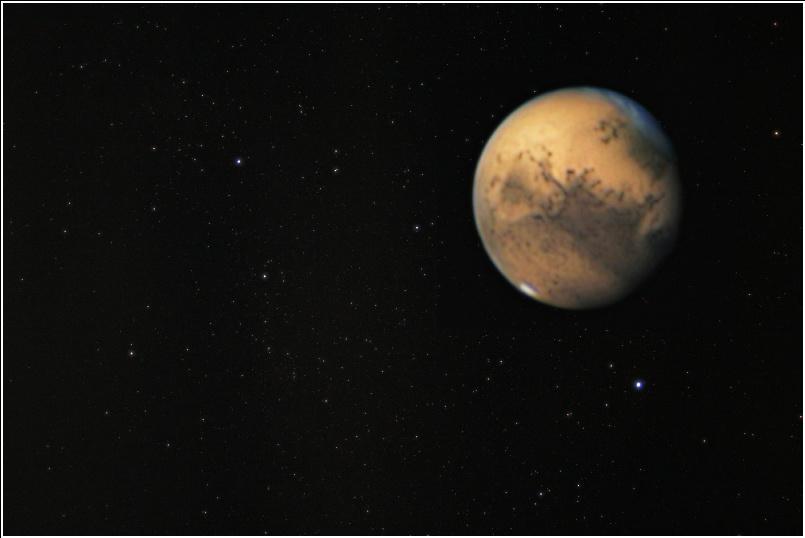 Mars auf dem Weg zur Opposition 2005