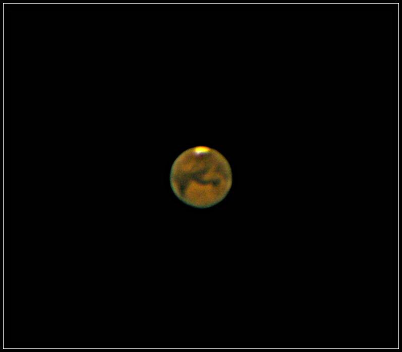 Mars- der rote Planet ...... und viel Text
