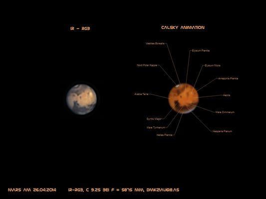 Mars vom 26.04.2014