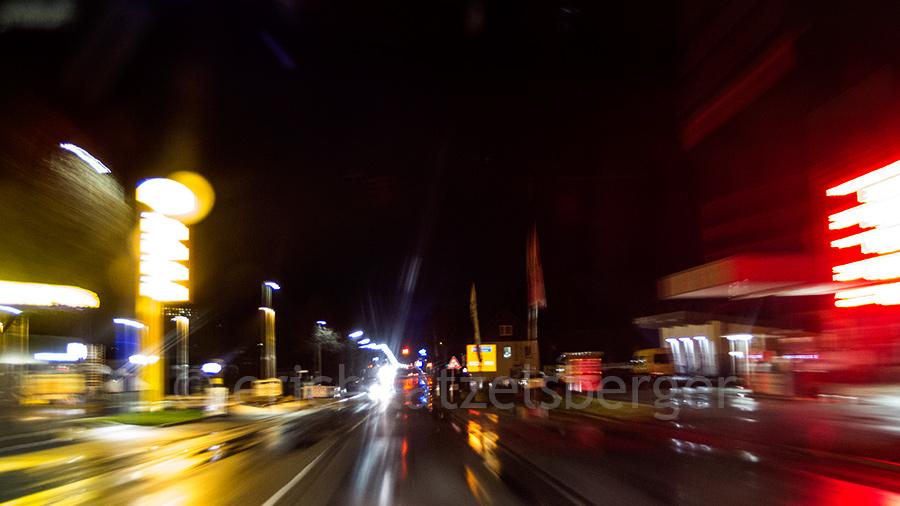 marsberg - nachts an jet und bunse vorbei . . .