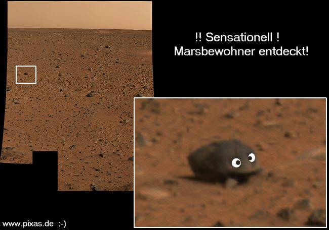 Marsbewohner