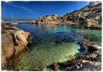 Marseille, Archipel du Frioul, Ile de Pomègues, la calanque de la Crine
