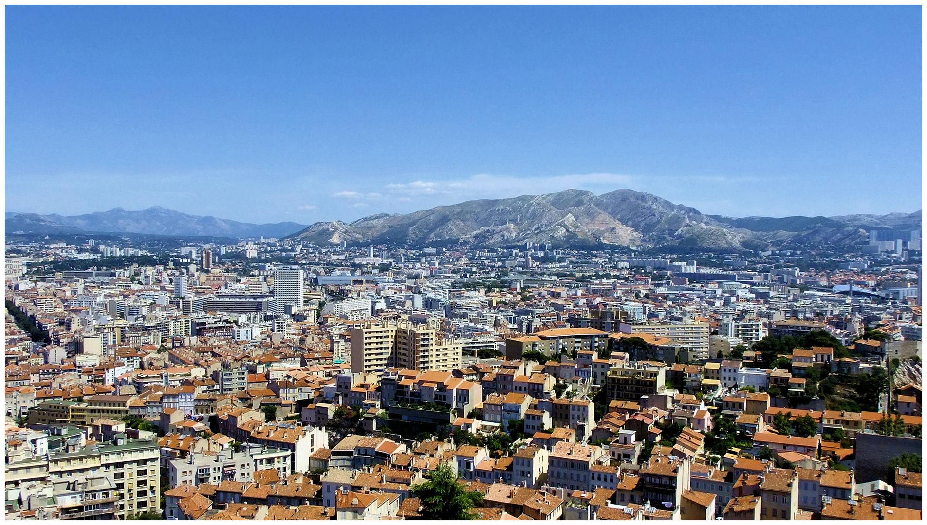 Marseille, côté collines