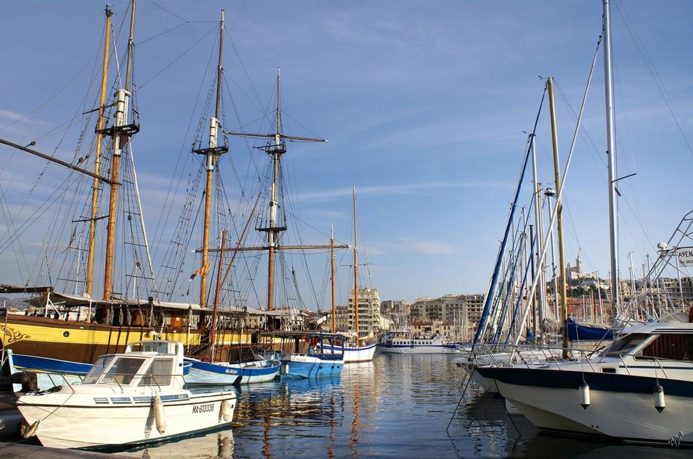 Marseille ... côté port