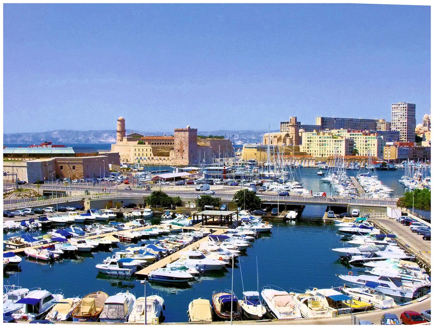 Marseille côté vieux-port