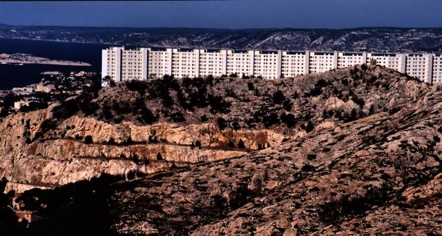 Marseille - in den Karst gebaut