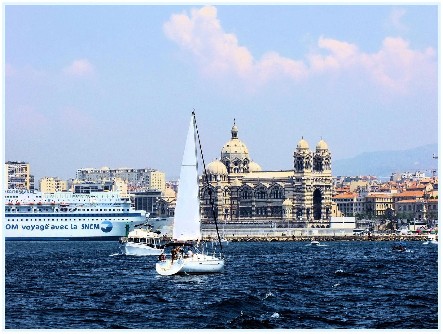 Marseille, la Major