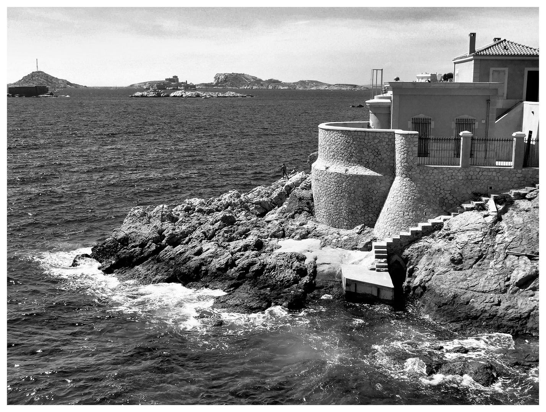 Marseille. Le marégraphe