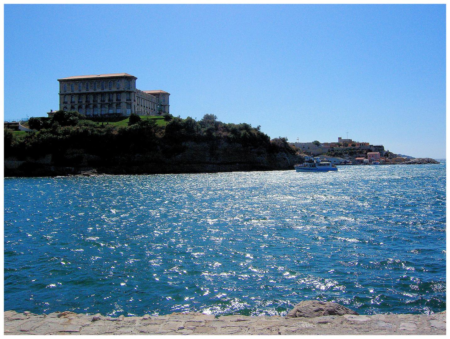 Marseille, le palais du Pharo