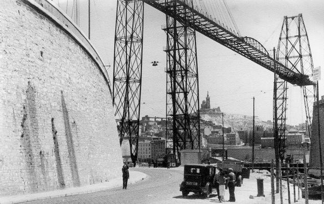 Marseille : le pont transbordeur