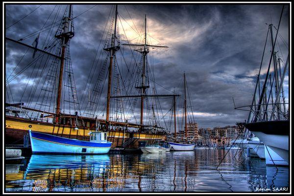 Marseille, le vieux port ~ Karim SAARI ©