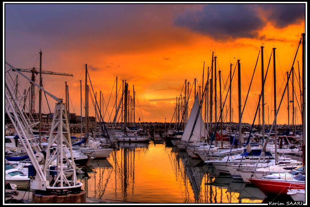 Marseille, port de l'estaque
