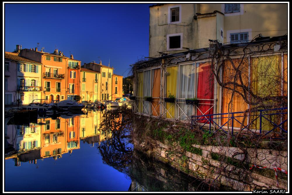 Martigues, le quartier de l'ile