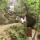 Martina am Ebentaler Wasserfall IV
